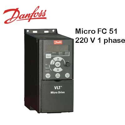 اینورتر تکفاز danfoss Micro