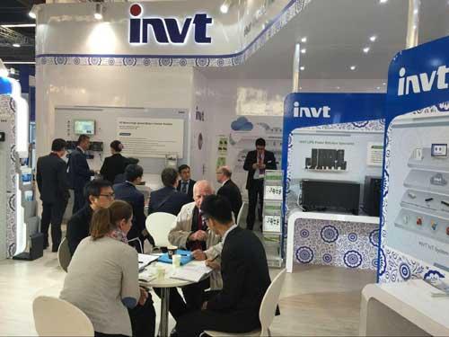 نمایشگاه اینورتر INVT سه فاز